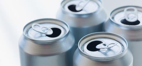 Metal, Aluminum can, Tin, Cylinder, Home accessories, Circle, Aluminium, Silver, Gas, Steel,