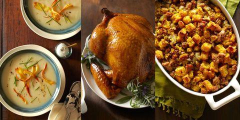 thanksgiving recipes turkey soup stuffing