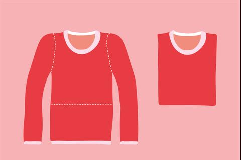 Product, Sleeve, Red, Orange, Pattern, Carmine, Fashion, Maroon, Neck, Peach,