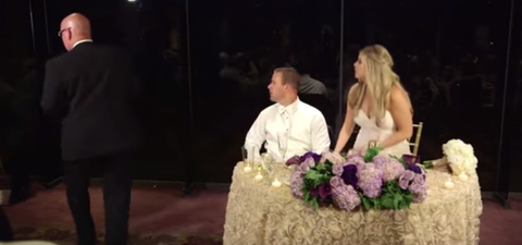 Firefighter Saves Choking Guest At His Own Wedding