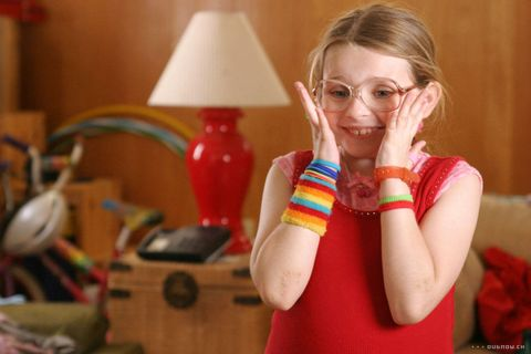 Glasses, Lampshade, Lamp, Blond, Light fixture, Bracelet, Lighting accessory, Brown hair, Kitchen, Kitchen appliance,