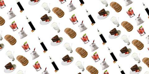 Dessert, Cuisine, Illustration, Junk food, Recipe, Frozen dessert, Cone, Chocolate ice cream, Chocolate, Snack,