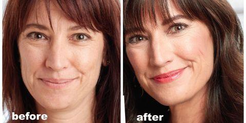 Makeup face-lift