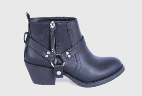 Product, Boot, Black, Costume accessory, Leather, Buckle, Work boots, Motorcycle boot, Snow boot,