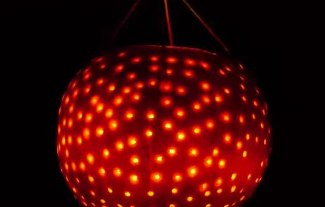 Halloween Pumpkin Decorating Hack Pumpkin Disco Ball