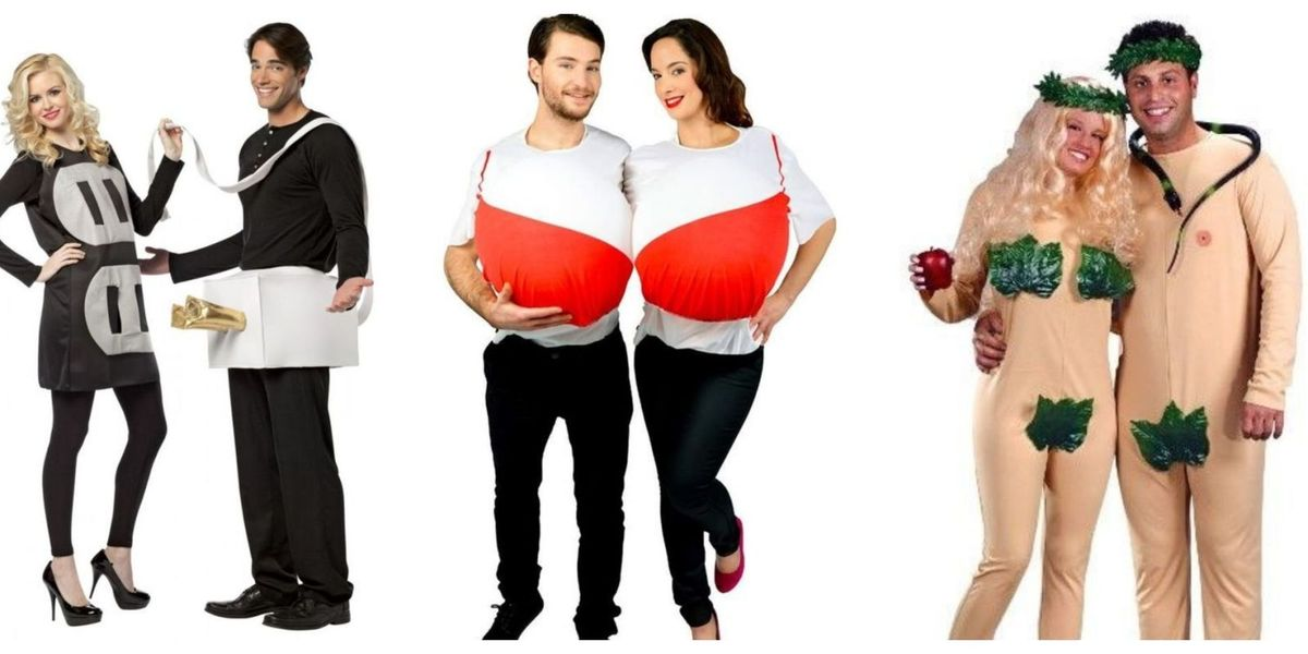 15 Halloween Couple Costumes Ideas That Make Us Cringe