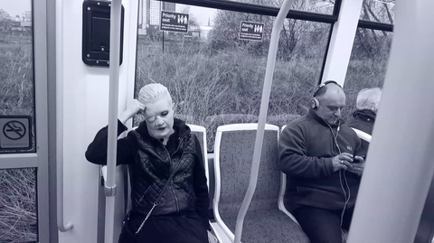 Transport, Passenger, Public transport, Comfort, Sitting, Monochrome, Rolling stock, Monochrome photography, Train, Railway,