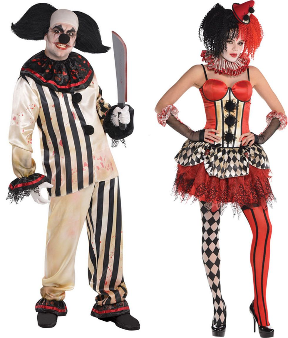 So why not pay homage to the creepy series by invoking its infamously terrifying clown from last yearu0027s Halloween episode?  sc 1 st  Redbook & Top Couples Costumes 2015 - Pop Culture Influenced Couples Costumes