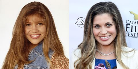 """<p>Cory's longtime love Topanga is also very much alive in 2015 with Fishel reprising her role on <em>Girl Meets World</em> as mom to her and Cory's daughter, Riley. She didn't do much work outside of short-lived, now forgotten TV shows and independent films. Side note: her hair is still fabulous.<span class=""""redactor-invisible-space""""></span></p><h1><i></i></h1>"""