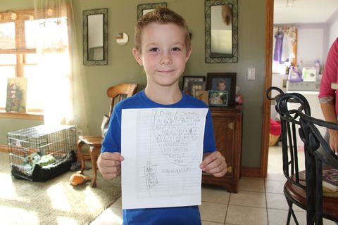 How an 8-year-old boy responded to a bully