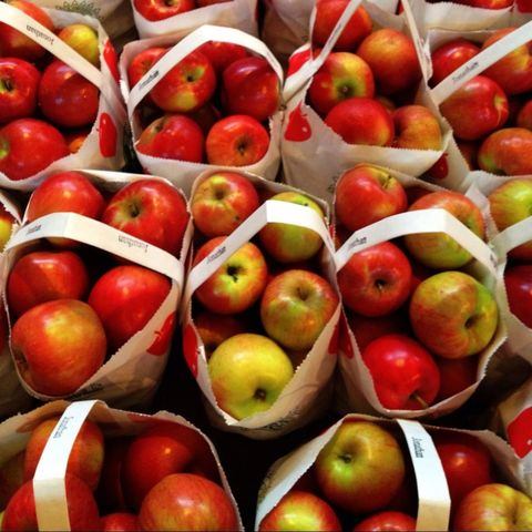 Vegan nutrition, Local food, Fruit, Natural foods, Whole food, Food, Produce, Red, Apple, Mcintosh,