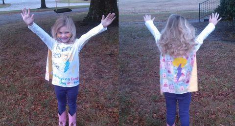 little girl superhero, little girl dresses as superhero,