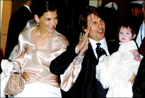 Tom Cruise Katie Holmes And Suri At Wedding
