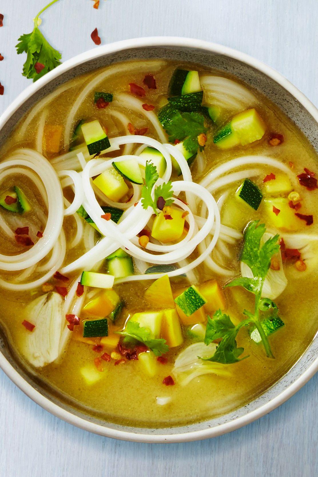 Healthy noodle soup recipes