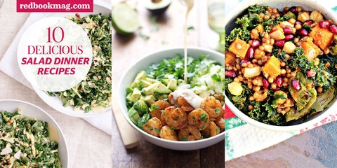 10 Salad Dinners That Fill You Up
