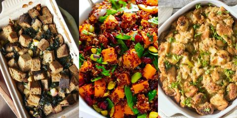 Stuffing recipes for Thanksgiving and the holiday season.