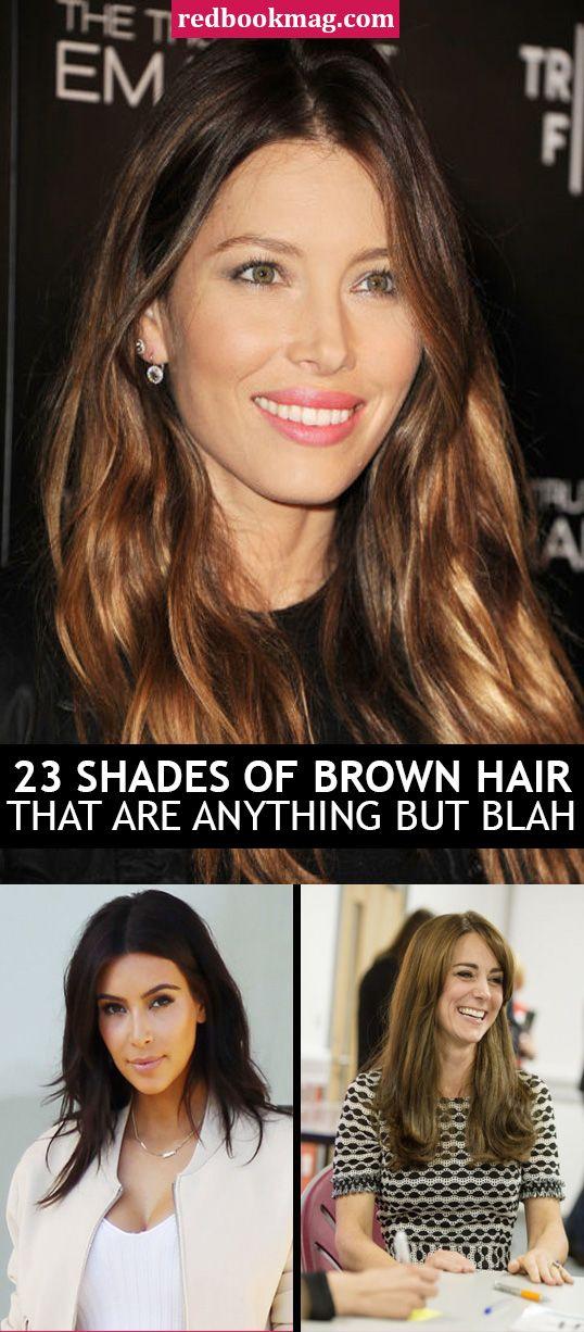25 Best Brown Hair Color Ideas Brunette Celebrities Hair Shades
