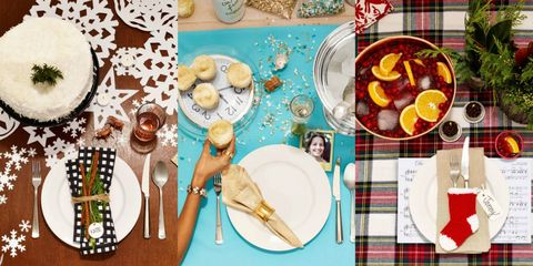 4 Festive Table Settings for the Best Holiday Party Ever