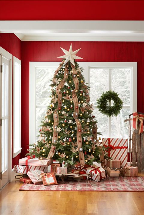 <p><strong>What the song says about you: </strong>You like to keep your Christmas style classic, yet fun. You appreciate elegant Christmas decor, but also want to maintain a light-hearted tone throughout your home. </p><p><strong>How to decorate your tree:</strong> Adorn your tree with jingle bells and red jute webbing. Burlap poinsettias add a decorative touch, and a seven-point star, hand-crafted from vintage sheet music, hits an especially high note. Antique sleds are a practically sized sub-in for a one-horse open sleigh. Assign each family member a sled, and pile on gifts accordingly.</p>