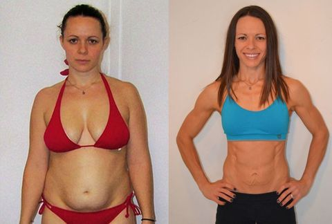Mom Who Couldn't Afford Gym Membership Builds One In Her Home And Loses 45 Pounds