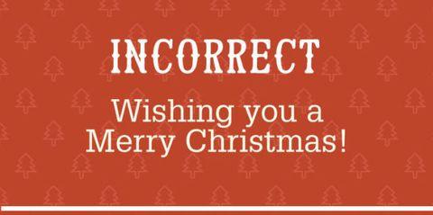 Typo Christmas cards