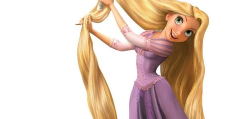 Hairstyle, Style, Long hair, Purple, Lavender, Animation, Muscle, Blond, Violet, Fictional character,