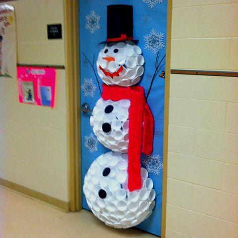 Snowman, Costume hat, Paint,