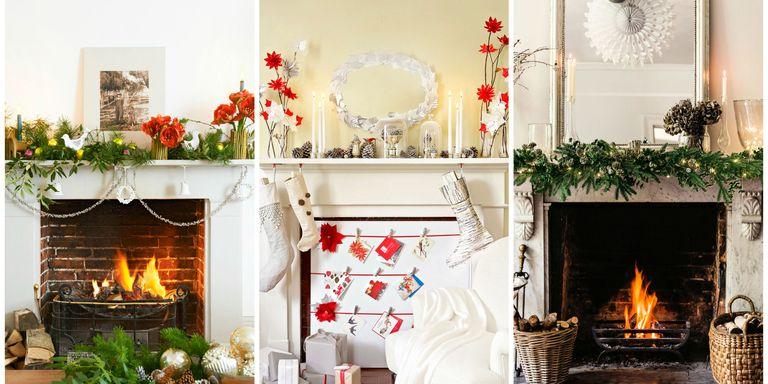 11 Cute Christmas Mantel Decorations - Mantel Decor
