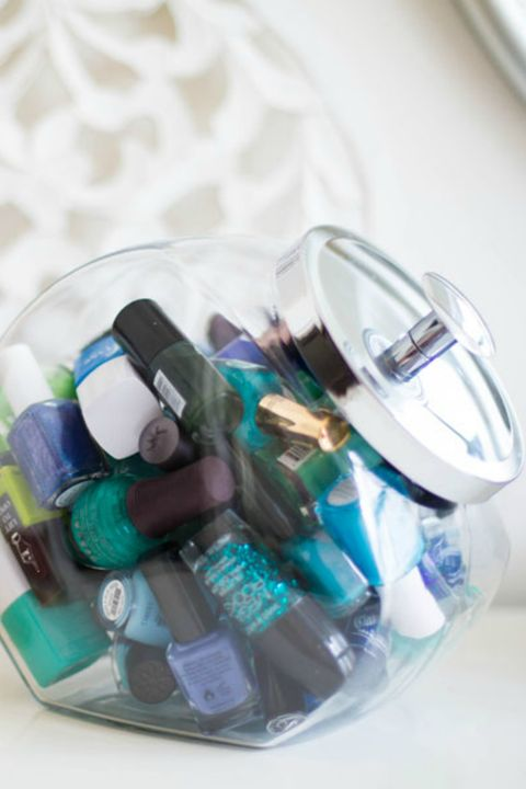 Blue, Teal, Aqua, Turquoise, Liquid, Plastic, Collection, Cosmetics, Silver, Nail care,