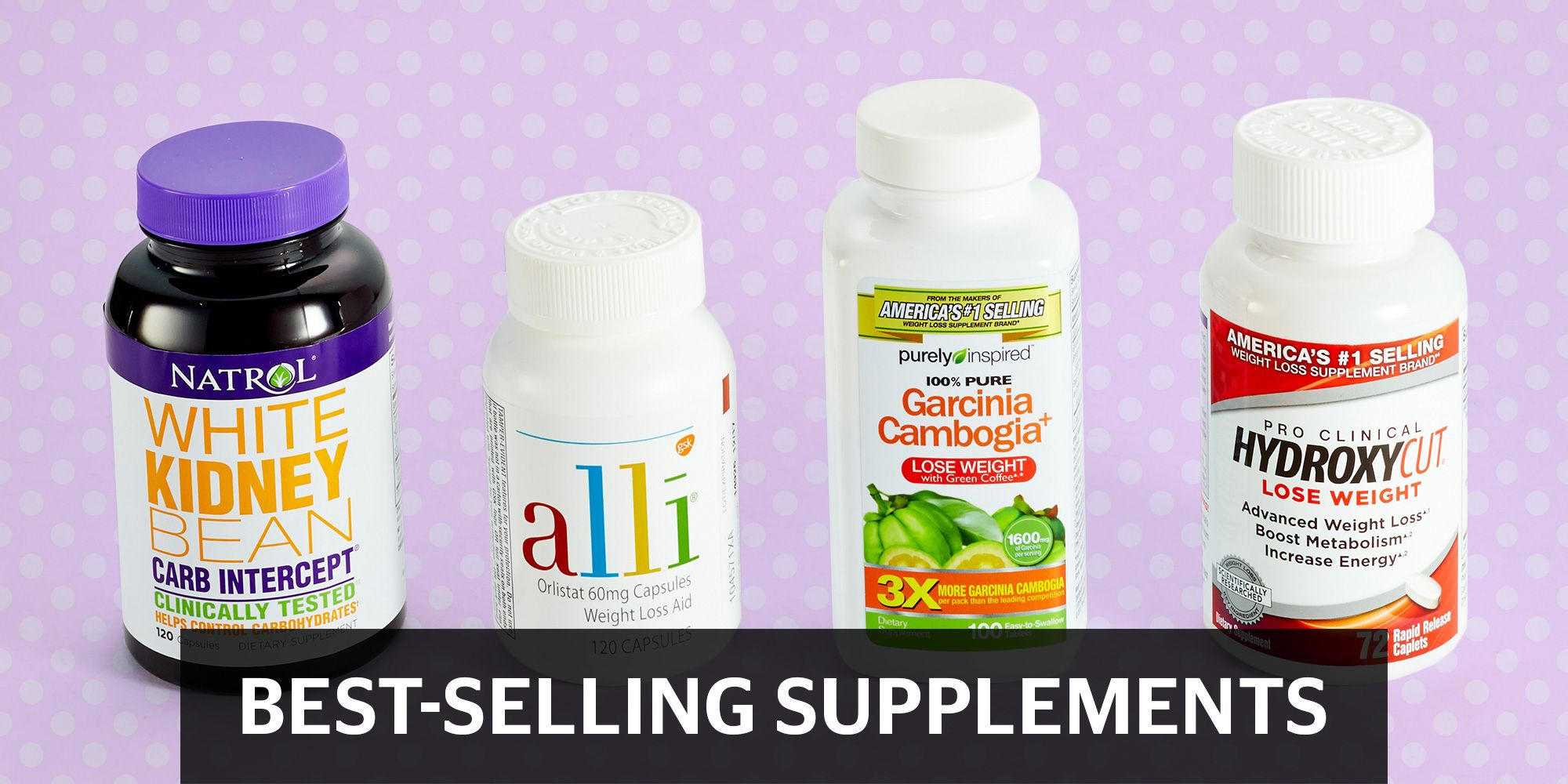 Best Selling Weight Loss Supplements - 4 Women Try 4 Diet Supplements