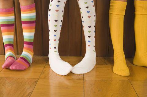 Leg, Flooring, Hardwood, Floor, Wood flooring, Laminate flooring, Sock, Wood stain, Varnish, Foot,