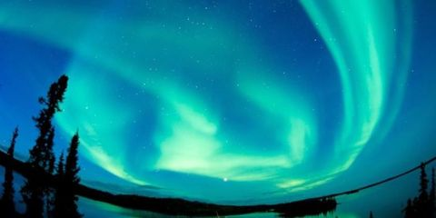 Aurora, Green, Natural landscape, Atmosphere, Atmospheric phenomenon, Space, Astronomical object, Star, Art paint, Astronomy,