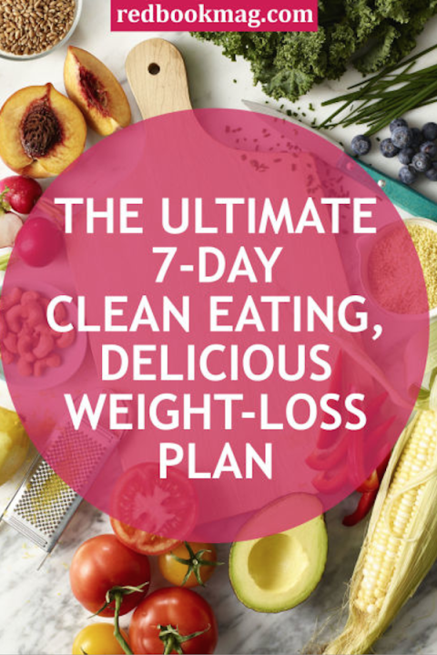 Clean Eating For Weight Loss - 7-Day Diet Plan For Weight Loss