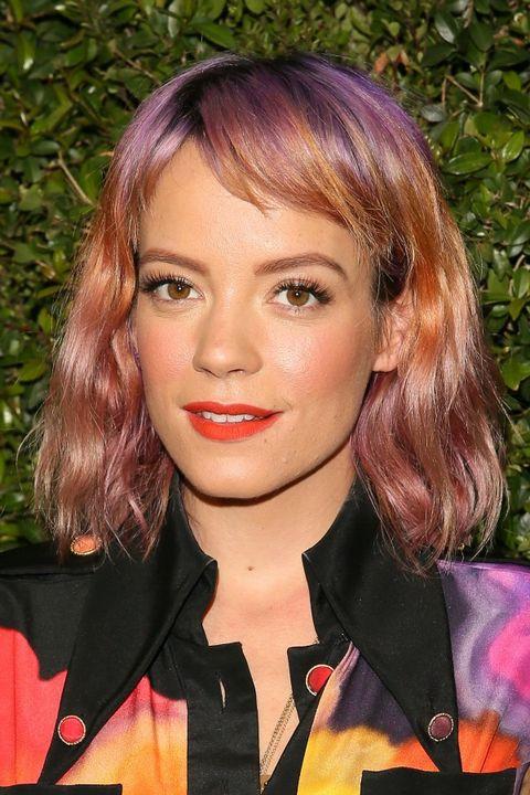 Celebrity Hair Trends 2016 Multi Color