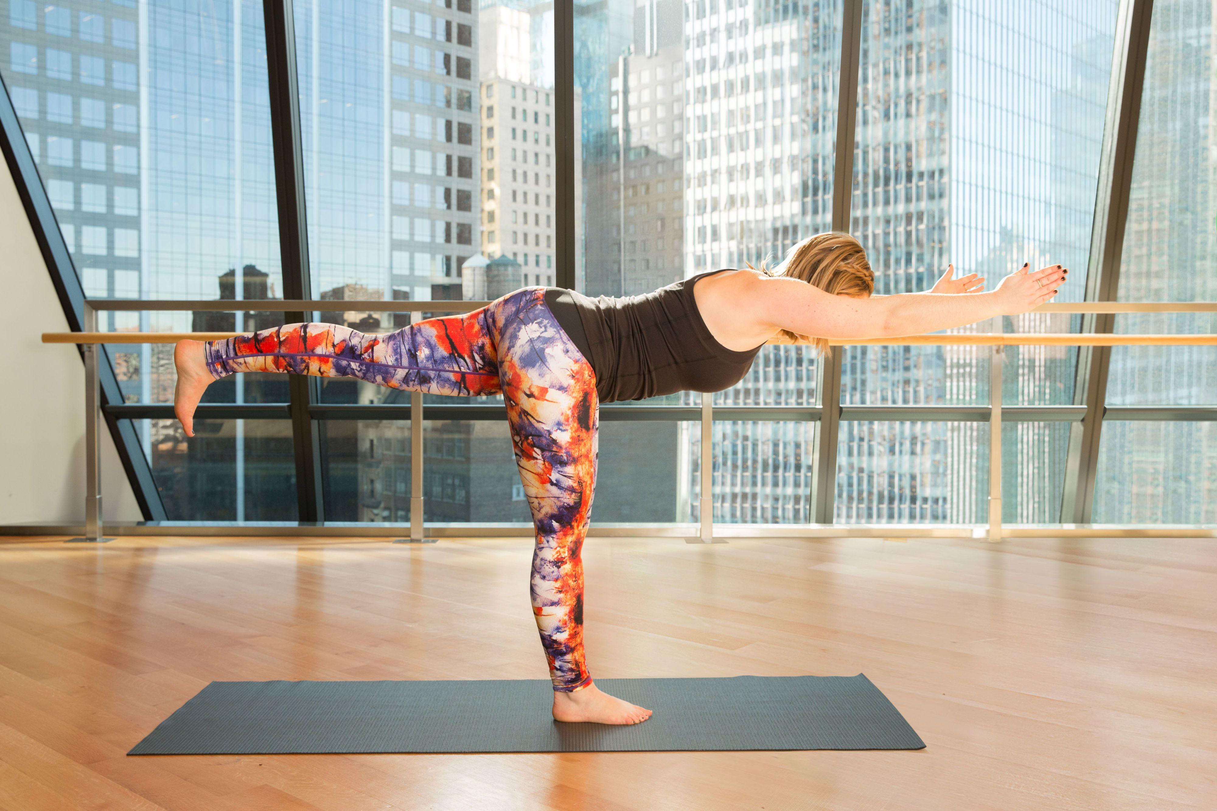 To reduce arm fat through yoga