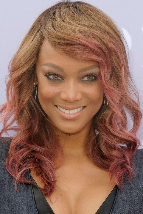 Multi Color 6pcs Honeycomb Handle Design Ombre Makeup: 16 Cool Multi-Colored Hair Ideas