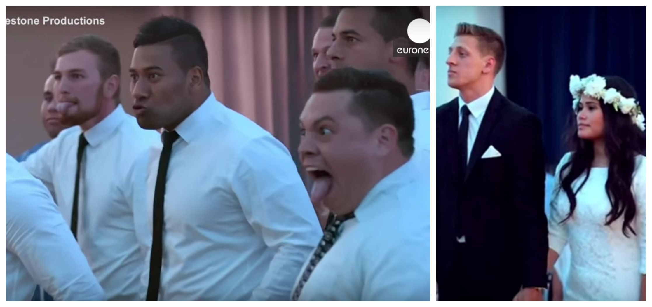 Wedding Guests Perform Traditional Haka To Honor Bride And Groom, Move Them To Tears