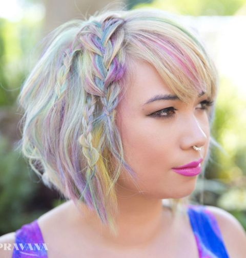 multi color hair styles 16 cool multi colored hair ideas how to get multi color 1562 | gallery 1453333487 gallery 1453327975 pravana