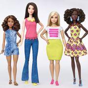 New Barbie body types
