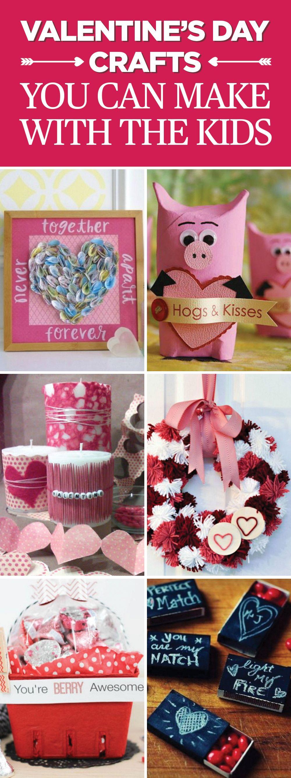 40 Fun Valentine\'s Day Crafts for Kids - Best Valentine\'s Activities ...