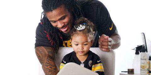 Nose, Human, Black hair, Love, Toddler, Reading, Hair accessory, Baby, Hug, Headband,
