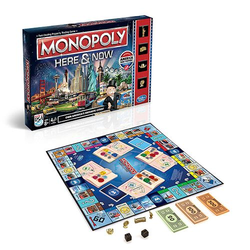 monopoly here and now board game us edition