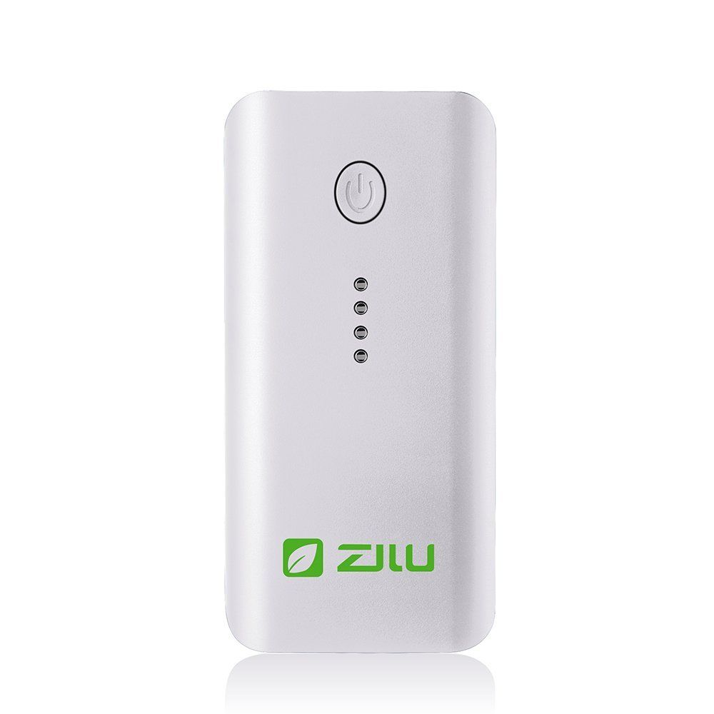 zilu smart power portable charger white