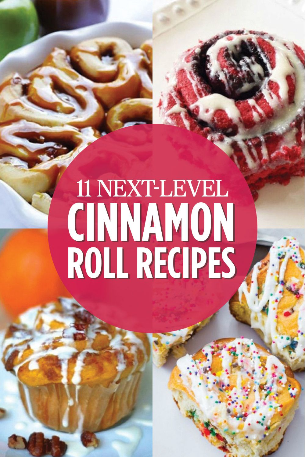 11 Cinnamon Roll Recipes That Make Getting Out of Bed Worth It