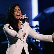 Demi Lovato 2016 Grammys Lionel Richie tribute