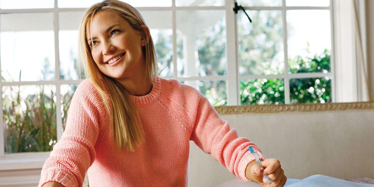 "Kate Hudson: ""Pretty Happy"" - neuH Magazine |Pretty Happy Book"