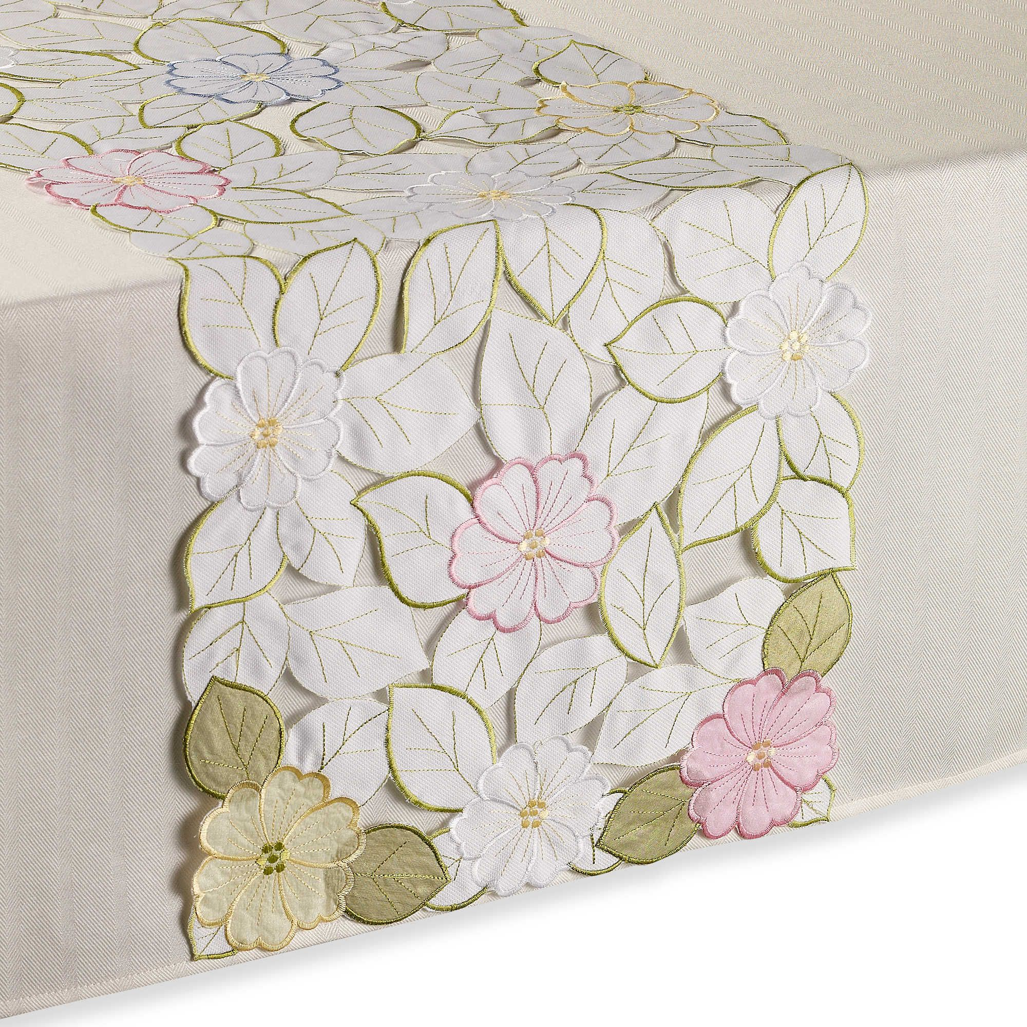 bedbathbeyond sam hedaya springtime table runner