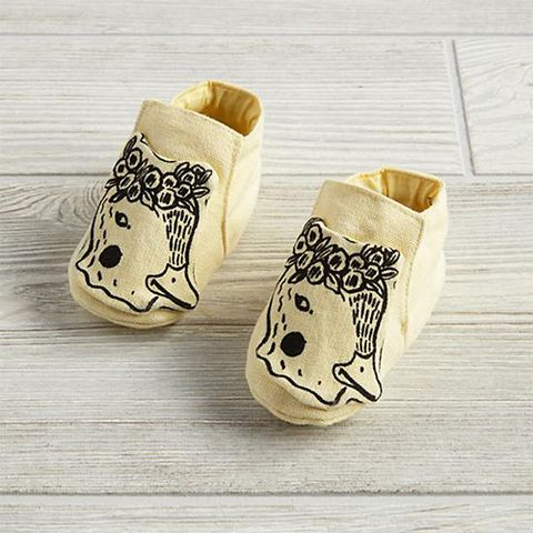 the land of nod farmland booties yellow duck