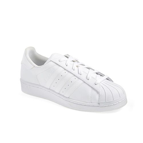 adidas superstar sneakers in white