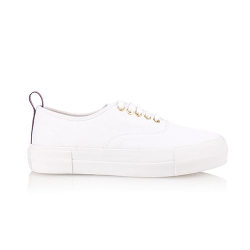 eytys mother canvas trainer sneakers white